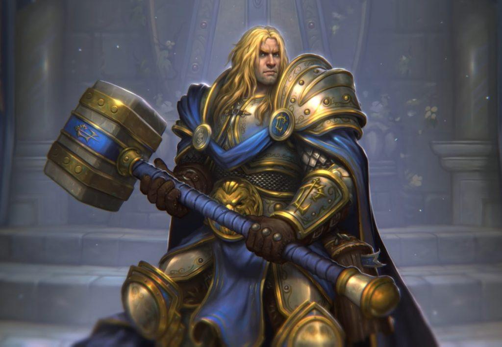 Hearthstone Arthas Menethil Hero