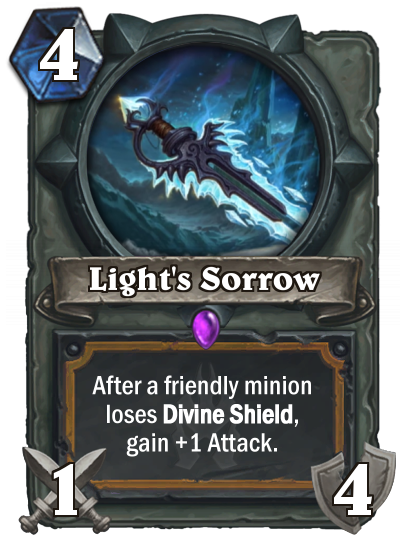 Hearthstone Light's Sorrow