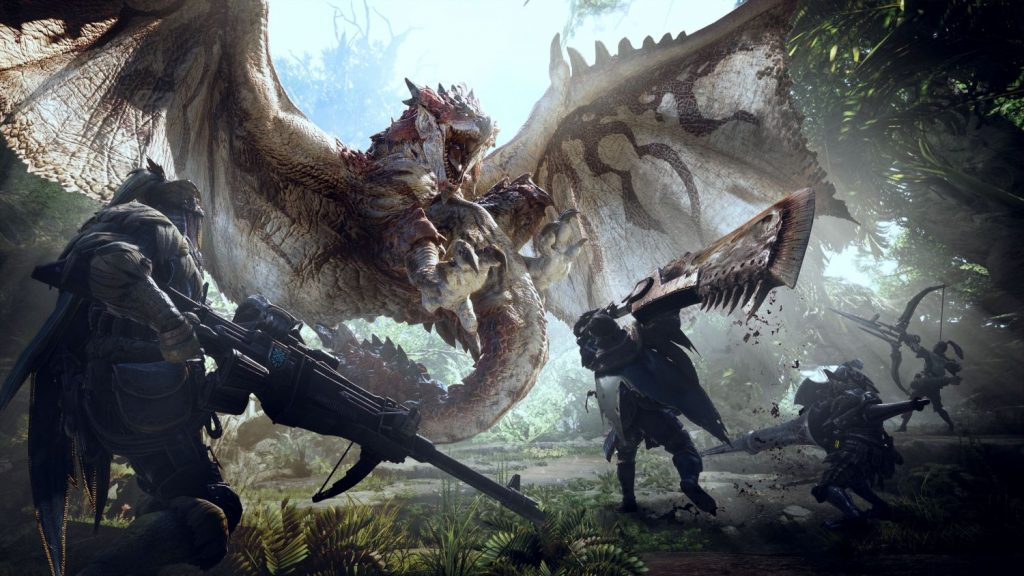 Monster Hunter World Hunters Weapons