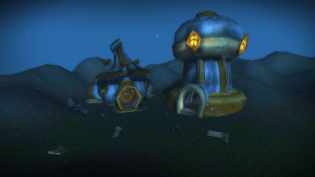 WoW Seltsame Orte Tanaris Gnome Houses