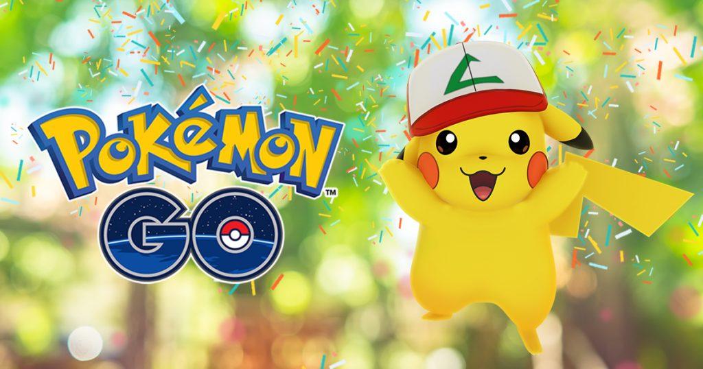 Pokémon GO 1 Jahr