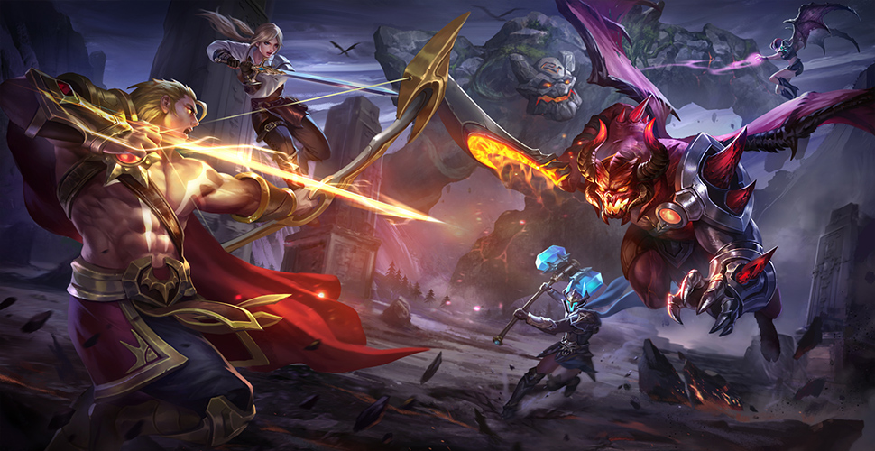 Arena of Valor Teamfight Artwork