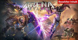 Arena of Valor bezahlter Inhalt