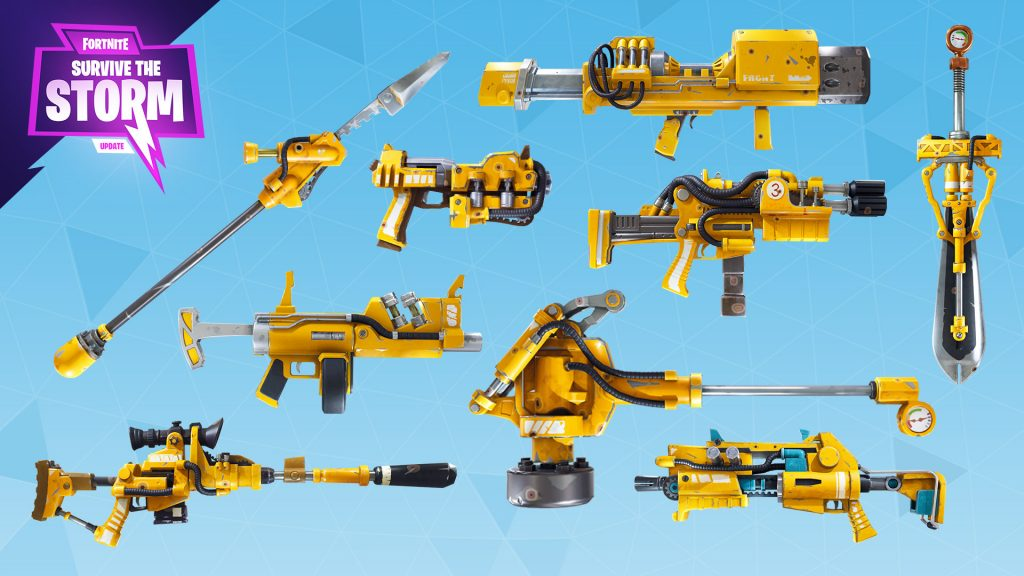 Fortnite Hydraulisch Waffenset