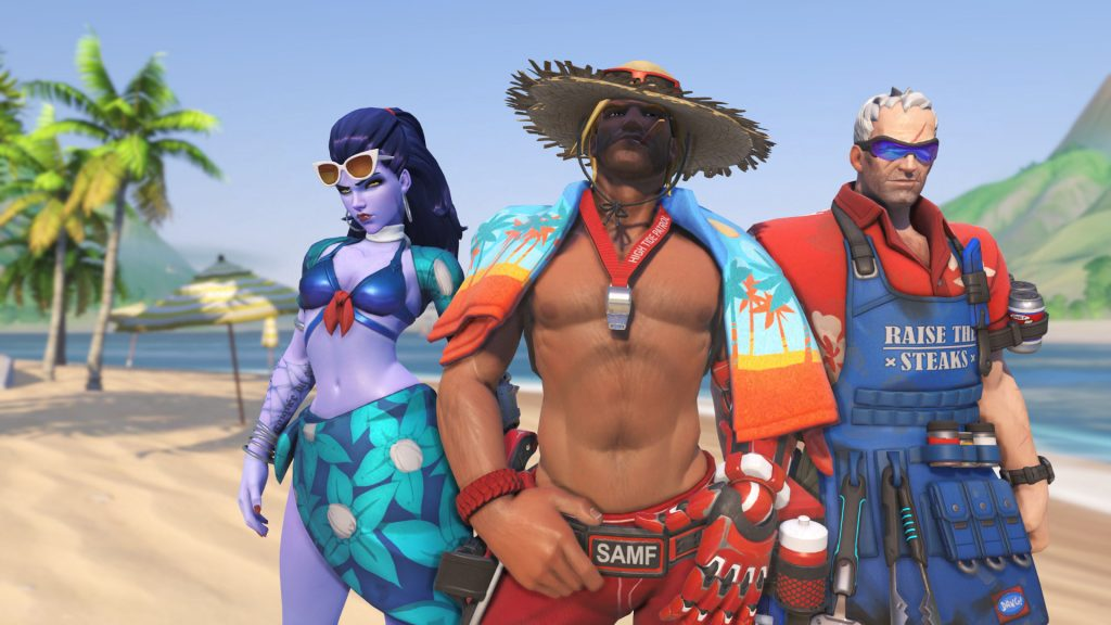 Overwatch Summer Games 2017 Title