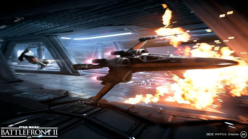 Star Wars Battlefront 2 Starfighter Assault Gamescom 1