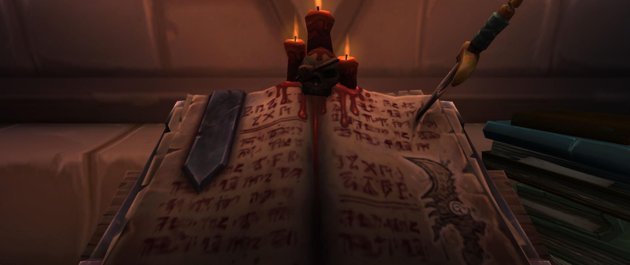 World of Warcraft Rogue Order Hall Book