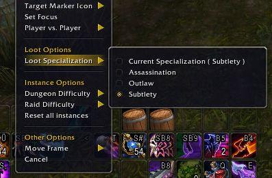 World of Warcraft Legendary Guide Loot Spec
