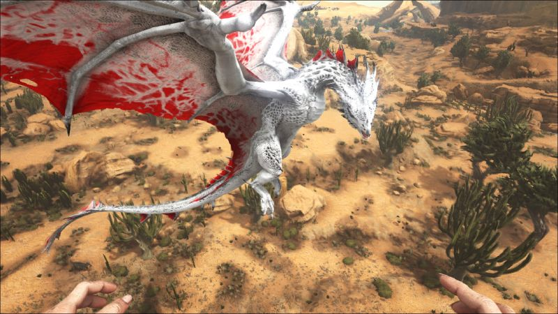 Black Red Dragon Paint