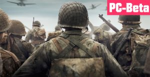 COD WWII Beta Titel