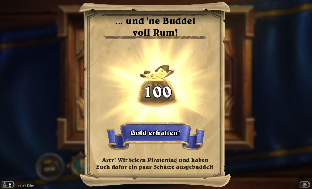 Hearthstone Piratentag
