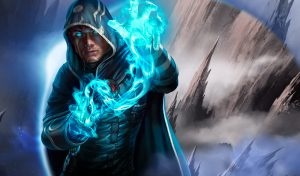 Magic The Gathering Arena Mage Caster blue