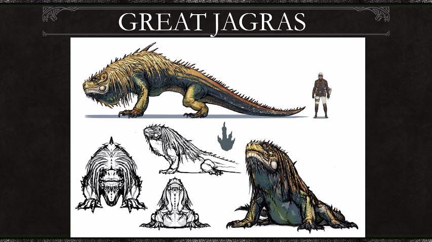 Monster Hunter World Great Jagras Concept