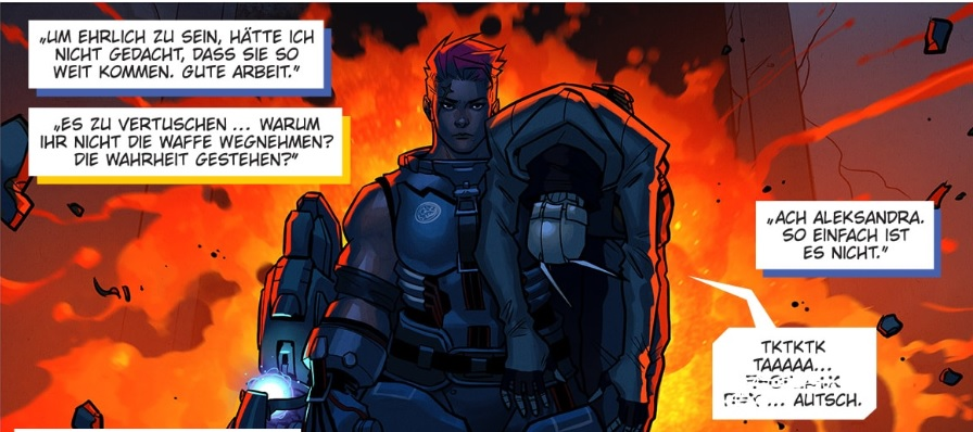 Overwatch Zarya Comic Clip 1