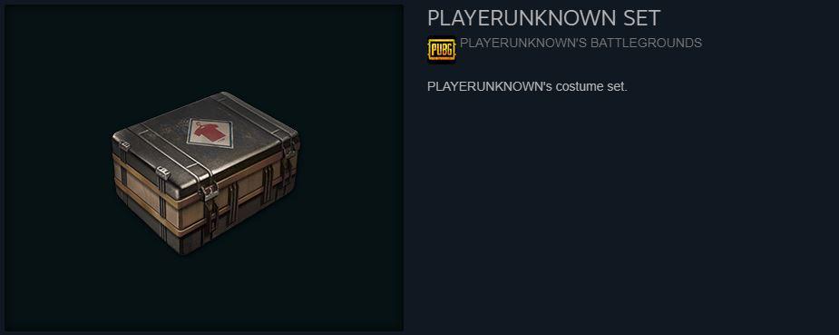 PlayerUnknown Set