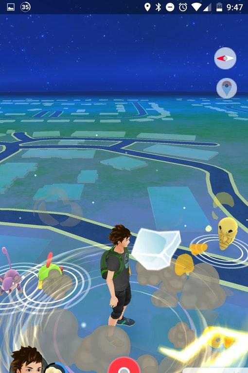 Pokémon GO Avatar Glitch2