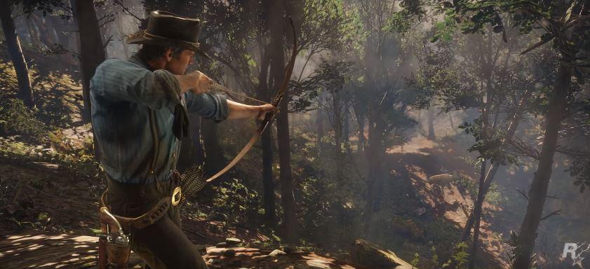Red Dead Redemption 2 Pfeil und Bogen