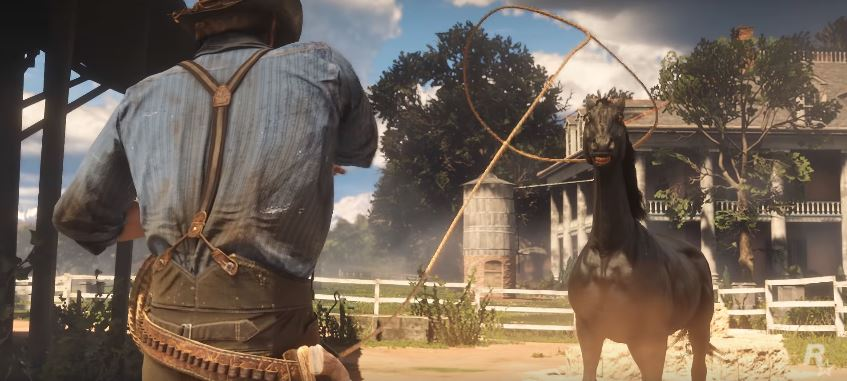 Red Dead Redemption 2 Pferd Lasso