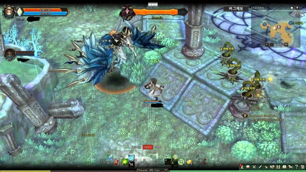 Tree of Savior Gameplay2