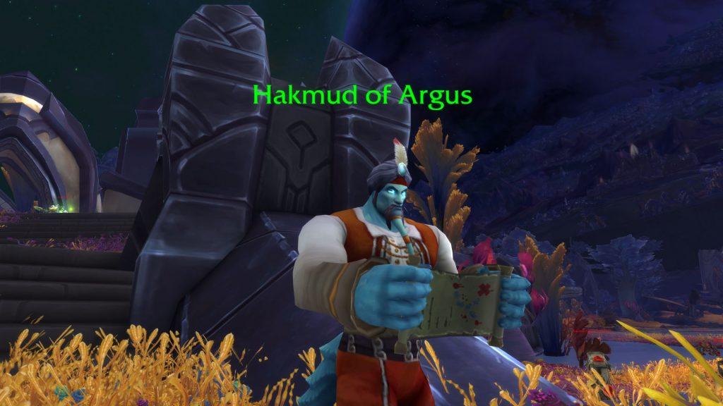 WoW Argus Hakmud von Argus
