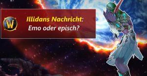 WoW Illidans Nachricht title