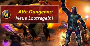 WoW old Dungeons loot title