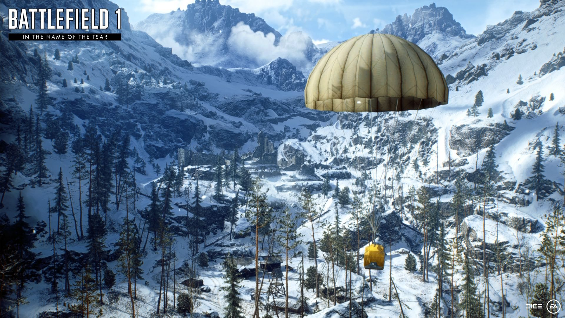 Battlefield 1 screenshot in the name of the tsar