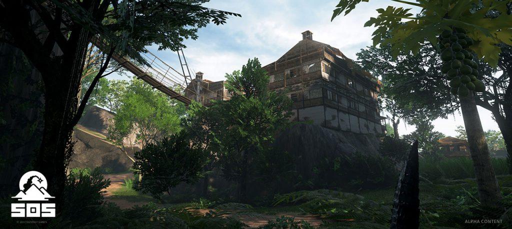 SOS Survival Gebäude