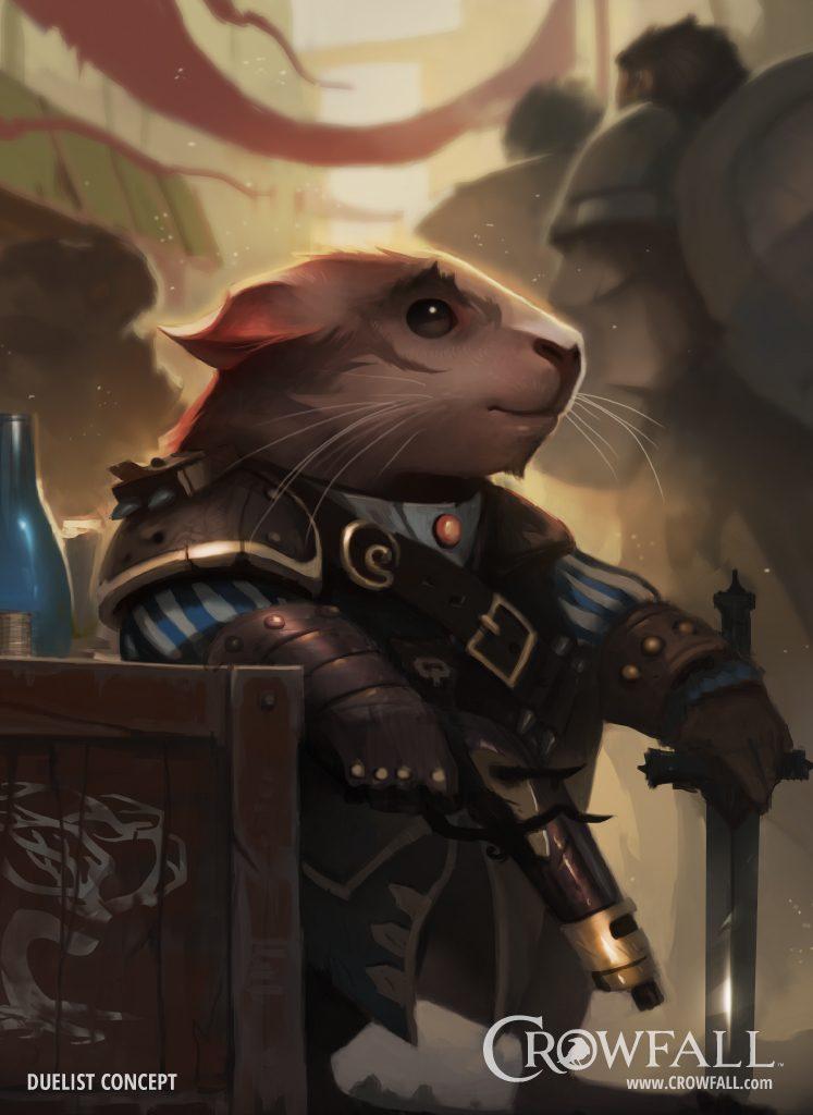 Crowfall Guinecean Hamster Duelist