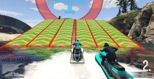 GTA 5 Online Verwandlungsrennen Jetski