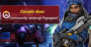 Overwatch Ana Papagei Corsair title