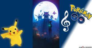 Pogo Halloween Titel Pikach Notenschlüssel