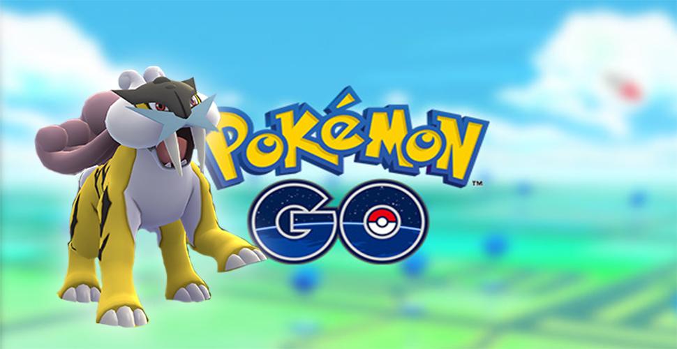Pokémon GO Raikou Titel