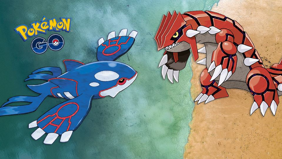 Pokemon Groudon Kyogre