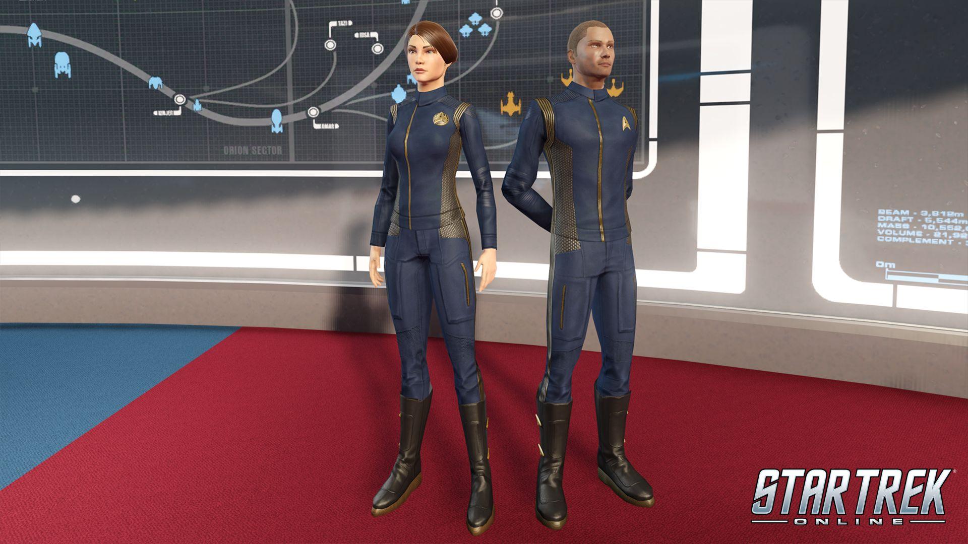 Star Trek Online schenkt euch Uniformen aus der Netflix ...