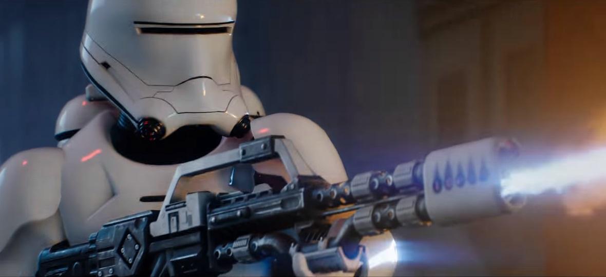 Star Wars Battlefront 2 Launch Trailer Fireblaster