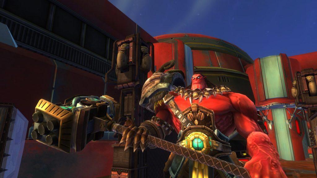 Wildstar Warplots big red dude