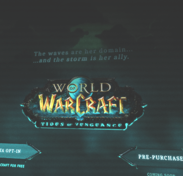 WoW Tides of Vengeance Site
