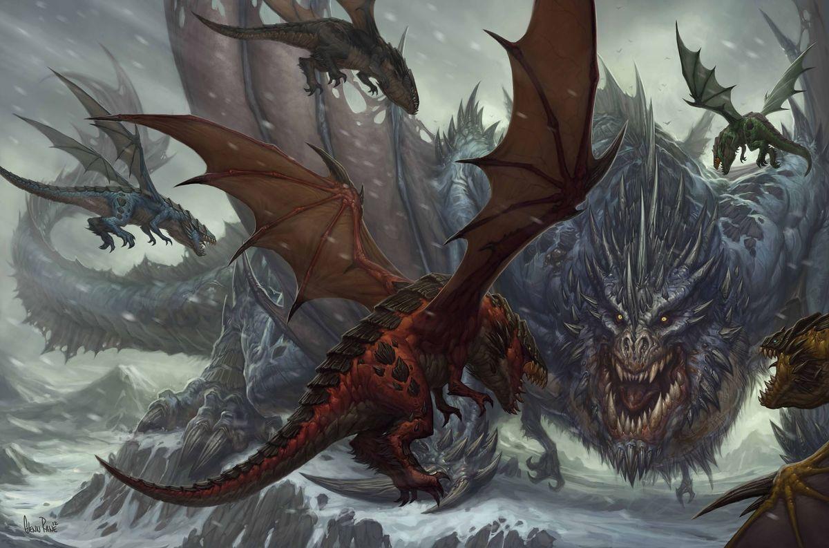 World of Warcraft Dragon Lore Galakrond