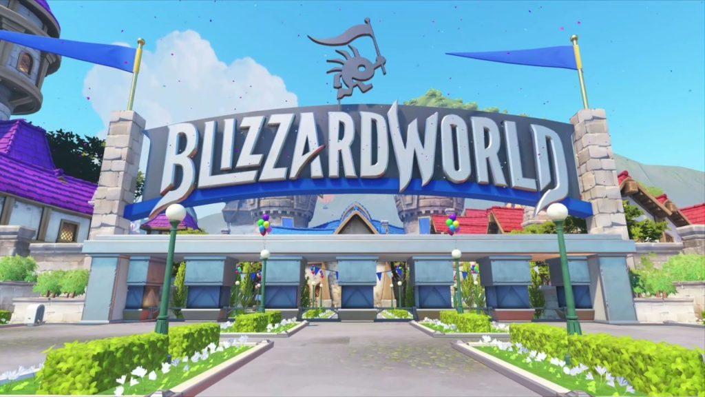 Blizzcon Overwatch Blizzardworld