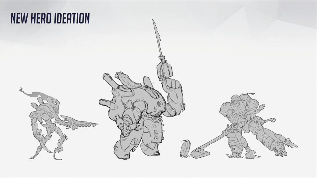 Overwatch Concept Blizzcon Early COncepts