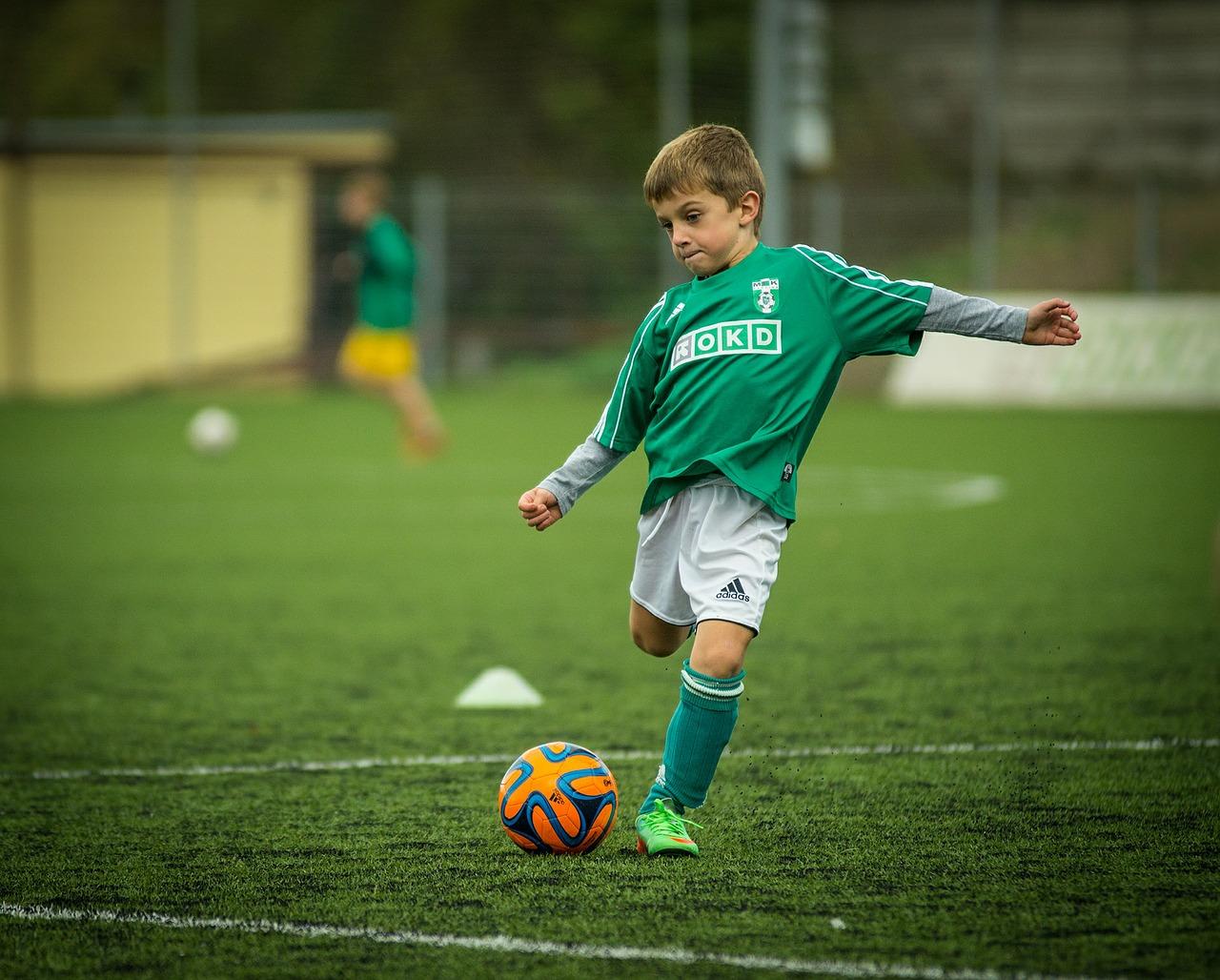 Fußball-Kind