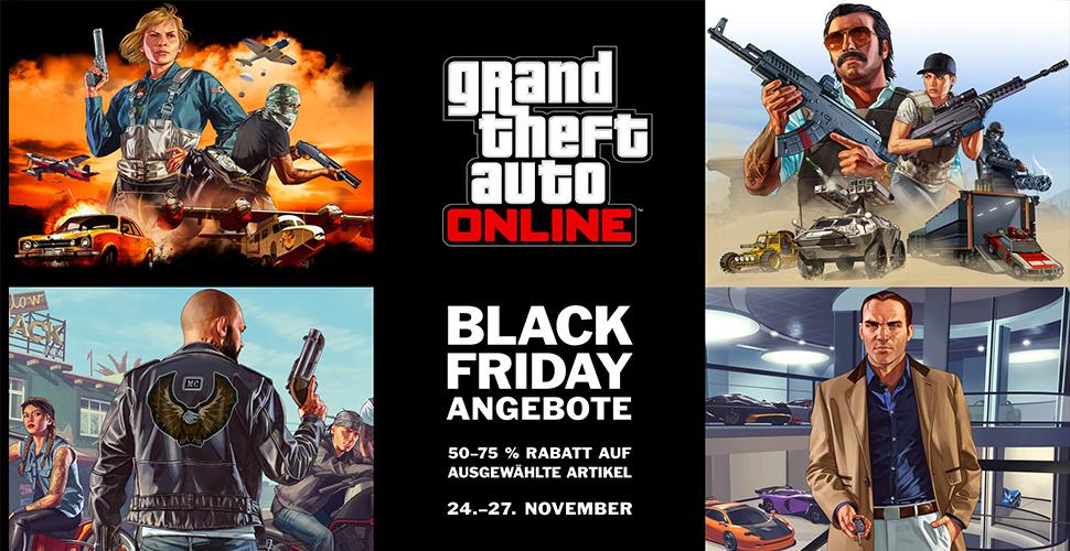 GTA 5 Online Black Friday