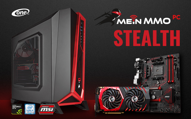 Mein MMO PC Stealth
