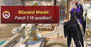 Overwatch Blizzard World Patch ptr title