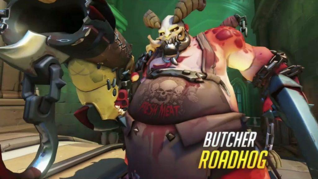 Overwatch New Skins Butcher Roadhog