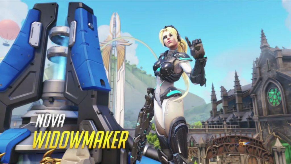 Overwatch New Skins Nova Widowmaker