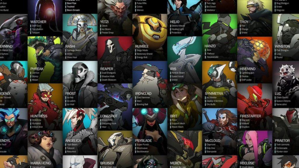 Overwatch Titan Early Hero Board