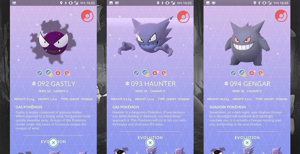 Pokémon GO Geister Shiny Titel