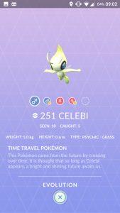 Pokemon GO Celebi 3D